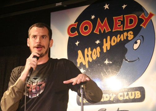 Flip Schultz comedy