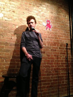 Scott Sharp comedian
