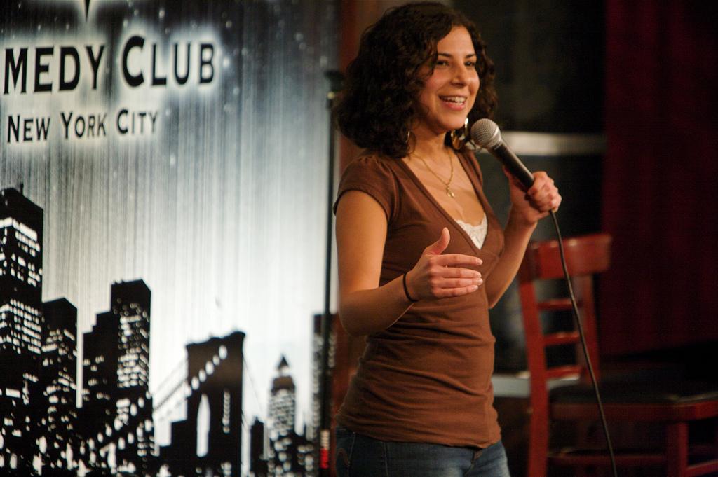 Maria Shehata comedian