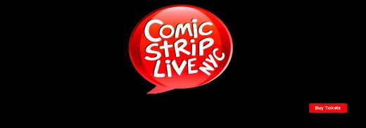 comic strip live tickets