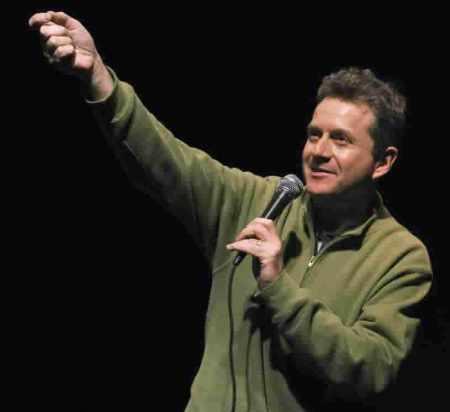 Scott Blakeman comedian