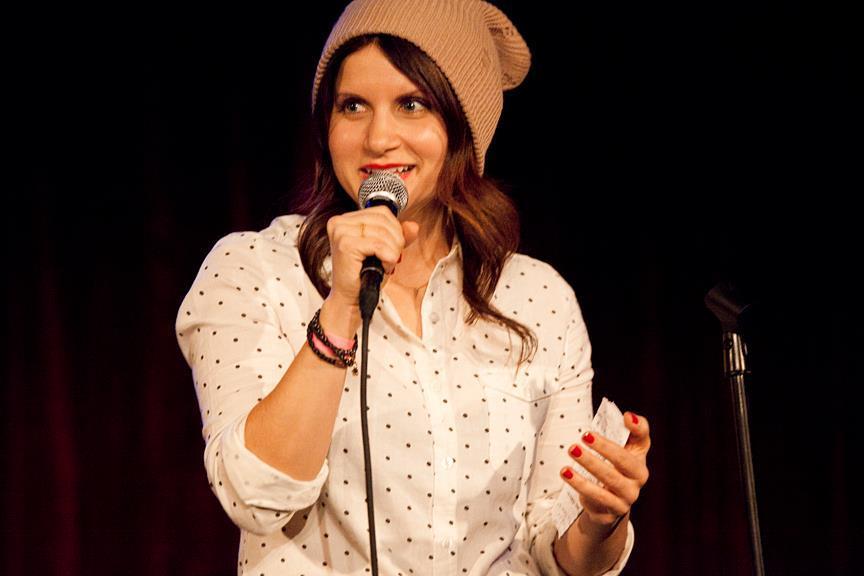 Brooke Van Poppelen Comedian