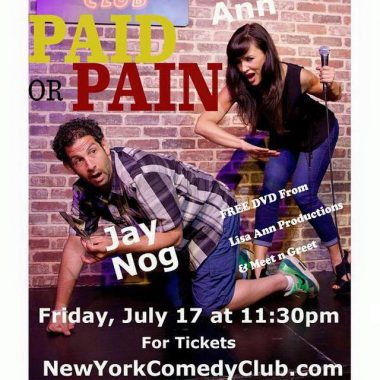 Paid Or Pain New York Comedy Club