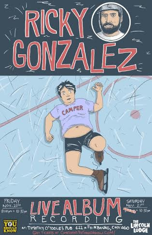 Ricky Gonzalez Album recording