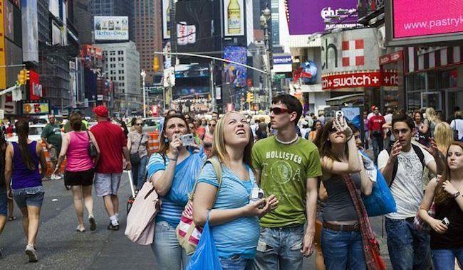 nyc tourist
