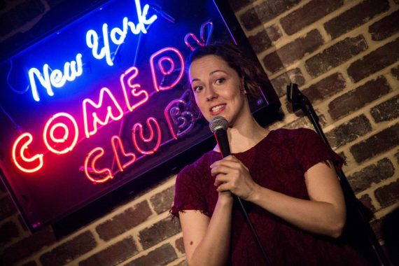 Camille theobald New York Comedy Club