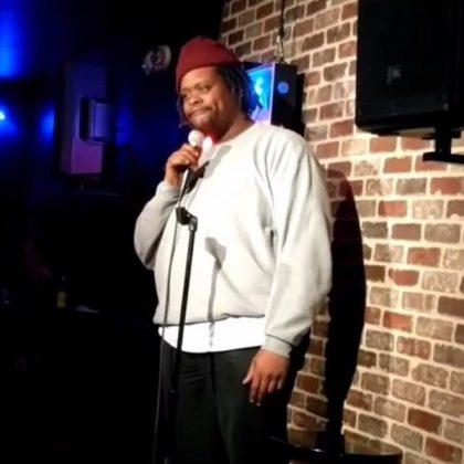 Napoleon Crudup at New York Comedy Club