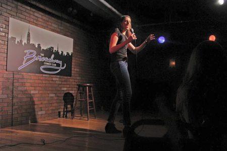 angela cobb at broadway comedy club