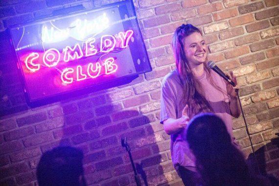 Maddy Smith New York Comedy Club