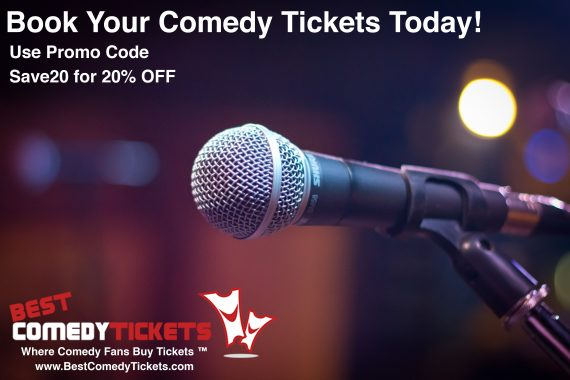 Best Comedy Tickets Flyer