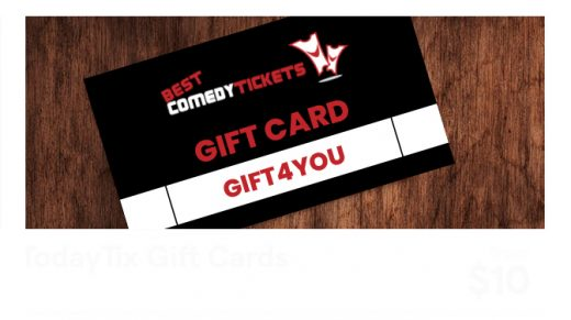 Best Comedy Tickets Gift Cards