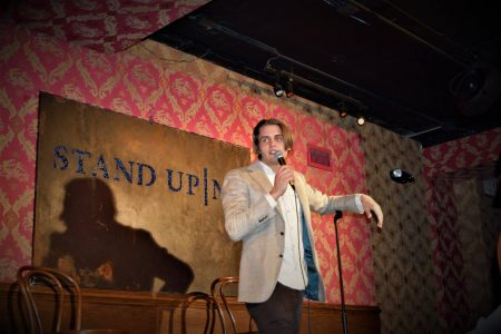 Robert Punchur at Stand Up NY