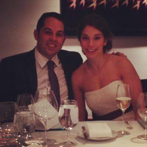David Kimowitz and wife