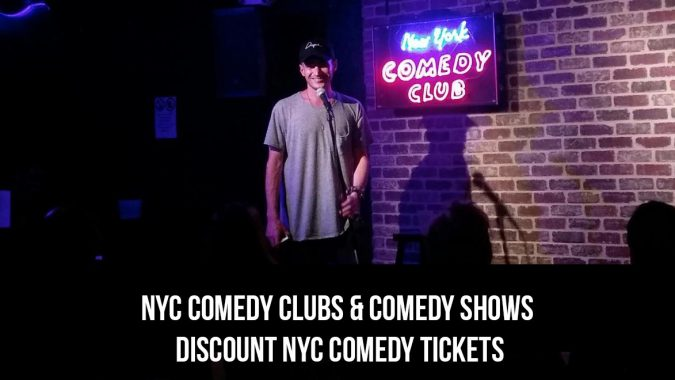 NYC Comedy Clubs Discount Tickets
