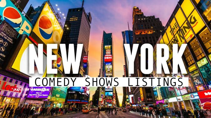 NYC Comedy Shows | New York Comedy Show Listings