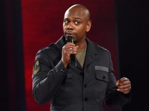 """Dave Chappelle's """"Sticks and Stones"""" was the most-viewed comedy special in 2019, according to Netflix data. Netflix"""