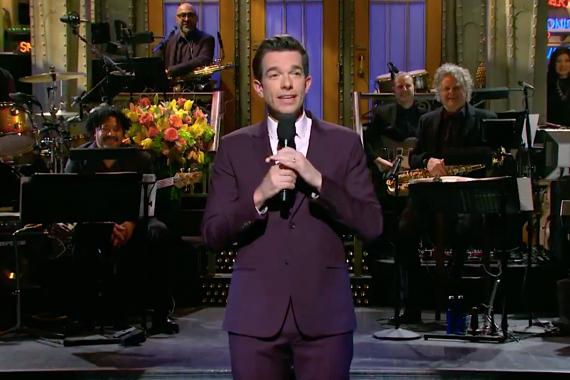 "John Mulaney hosted ""Saturday Night Live"" this week."